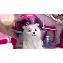 Barbie Pet Salon Con Silla Giratoria Y Perrita Intek