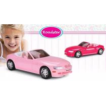 Auto Roma Roadster Fucsia P Muñeca Barbie Cabriolet Grande