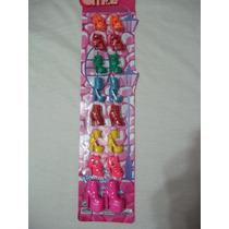 Calzado Zapatos Para Barbie My Scene Fashion Nuevos