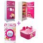 Combo Barbie Orig Grande Heladera + Lavarropas +lavavajilla
