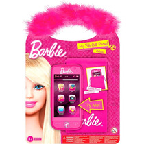 Barbie Celular Con Funda Y Sonido Original Intek