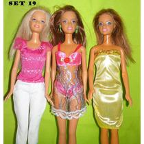 Ropa Vestidos Zapatos Para Muñeca Barbie
