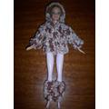 Ropa Para Barbie En Crochet-varios Modelos-navidad(s.martin)