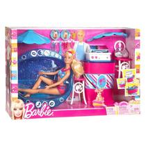 Muñeca Barbie Pancheria Y Pileta, Patio De Comidas Mattel