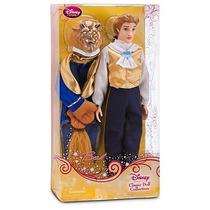 Principe La Bella La Bestia 2 En 1 + Muñeca Princesa Bella