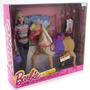 Barbie Cabalga Con Su Caballo Tawny