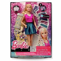 Barbie Peinados Brillantes- De Mattel