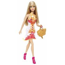 Barbie Y Summer Fashionistas Con Cartera Y Accesorios Mattel