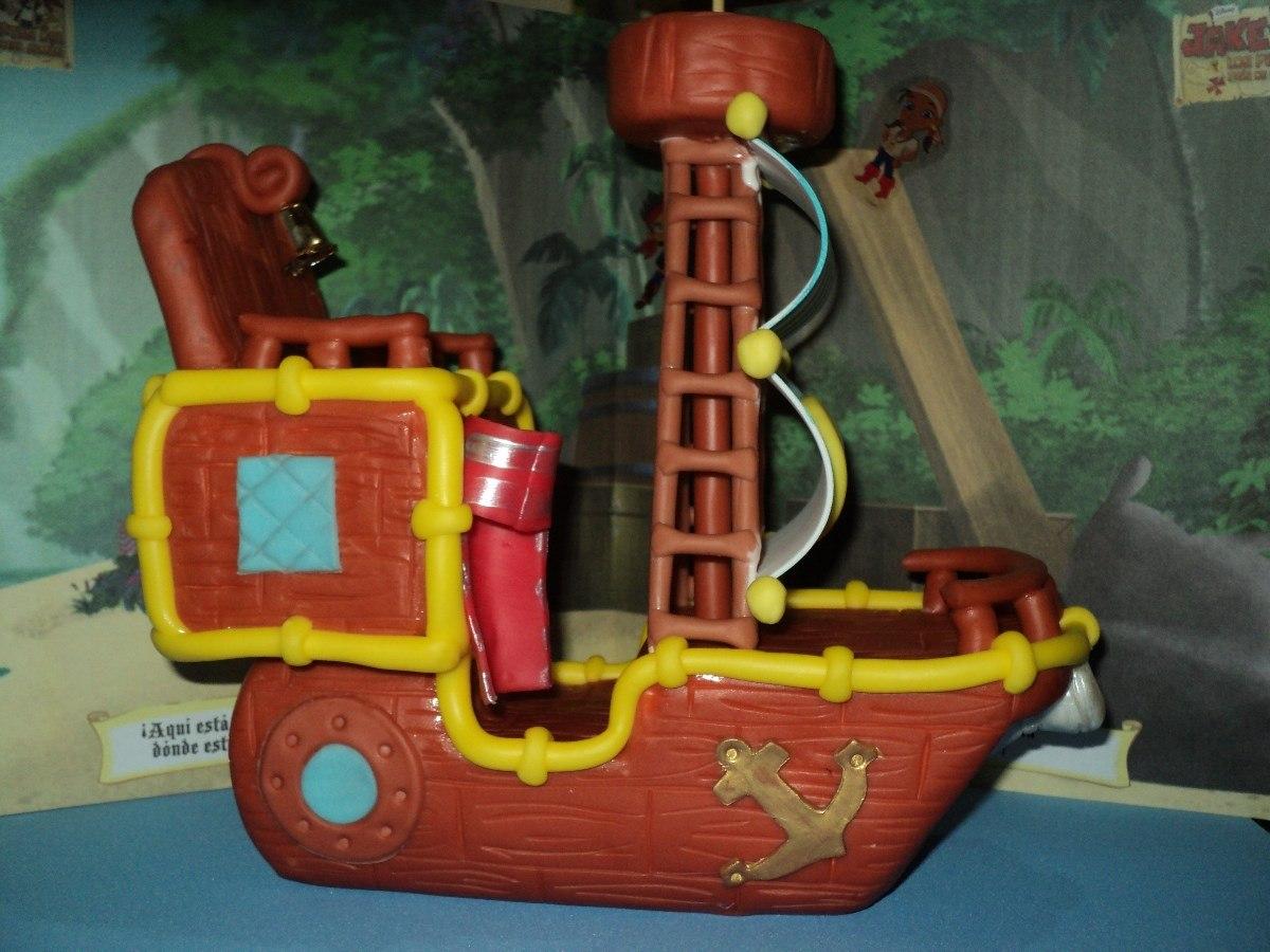 Barco De Jake Y Los Piratas Del Nunca Jamas  Porcelana Fria