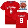 Buzo Campera Remera Nba Basket San Antonio Spurs Tony Parker