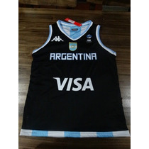 Musculosa Seleccion Argentina Basquet Mundial 2014 Kappa