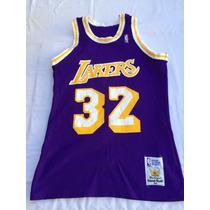Camiseta Nba (mc Gregor) Usa,los Angeles Lakers #32 Talle M