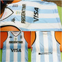 Musculosa Seleccion Argentina Basquet Mundial 2014 Reversibl