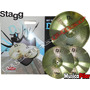 Set Platillo Stagg Dxc 13 Hat + Crash Ride 18 Musica Pilar