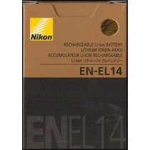 Bateria En-el14 Nikon Original Envio Gratis A Todo El Pais