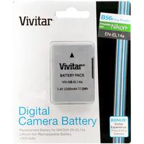Batería Vivitar En-el14 Nikon-3100-3200-5100-5200-fact A O B