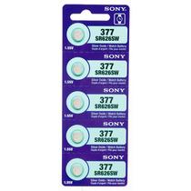 Pila 377 Sony Sr626sw Reloj Precio Por Blister De 5