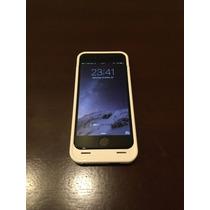 Funda Con Bateria Iphone 6 6s Blanca Unu Nueva Oportunidad