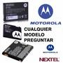 Baterias Nextel De Viejos Equipos Carga Full No Invalida