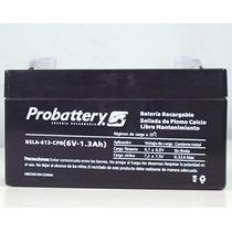Bateria De Gel 6v 1,3a Plomo Calcio Recargable Sellada