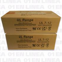 Pack 5 Baterias Bateria Gel 12v 7ah 7a Recargable Ups Alarma