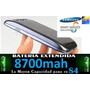 Bateria Extendida Samsung Galaxy S4 Y S3 8700mah 6mes Gtia