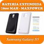 Bateria Extendida Funda Samsung Galaxy S5 I9600 Original Max