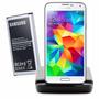 Bateria Samsung Galaxy S5 Gt I9600 + Dock Cuna Cargador