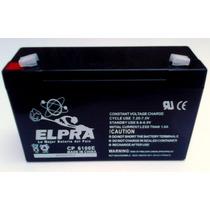Bateria 6v 10ah 6100e 6x10 Autos Electronicos Gel Selladas