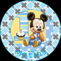 Stickers Personalizado Bautismo, Nacimiento, 1 Añito