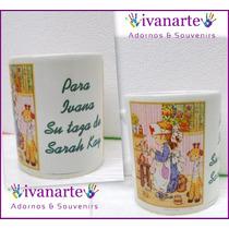 Taza De Ceramica Personalizada Tu Foto ,logo ,frase,dibujo