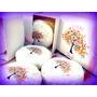 Souvenirs Bautismo-cajas Con Jaboncitos X10