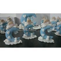 Souvenirs Angelitos Porcelana Fria