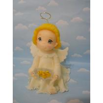 Angelitos Porcelana Fria. Souvenirs. Torta.bautismo,comunion