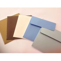 Sobres 10x10 En Distintos Papeles Y Colores Cantidad 50 U