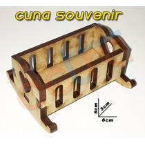 Souvenirs De Bautismo O Nacimiento Cunitas X 30 Unidades