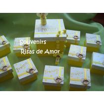 Souvenirs Bautismo Y Comunion Denarios En Cajitas Hermosos!!