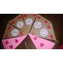 Banderines San Valentin Te Amo