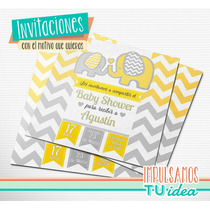 Baby Shower Varón - Tarjetita Para Imprimir
