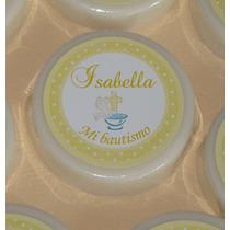 Souvenirs Jabones Artesanales Personalizados Bautismo X 10