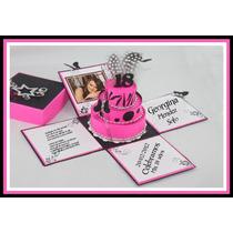 Kit Imprimible Cajitas Invitaciones Y Souvenirs Imprimible