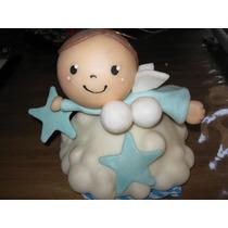 Angelito En Porcelana Fria Hermoso Y Regalado