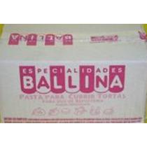 Pasta Ballina Tortas Promo Caja 3 Kilos Vainilla O Chocolate