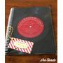 Cuaderno Vinilo Vintage 70s Genuino Disco