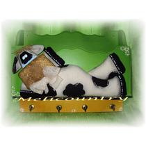 Muñecos Country Vaca Porta Cartas+llaves