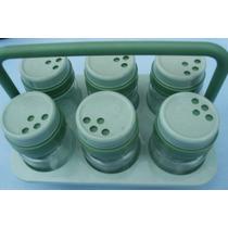 Especiero Plastico Condimentero Contenedores Frascos Organiz