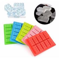 Cubetera Hielos Molde Lego Rasti Silicona Bombones