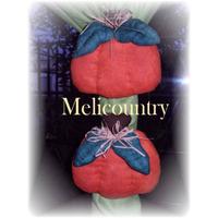 Muñecos Country Sujetacortinas Frutas Y Verduras Cocina