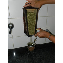 Yerbero De Pared , Dispenser De Yerba Artesanal