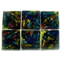 Apoya Vasos De Vidrio 9 X 9 Cm Diseños Varios Vitrofusión